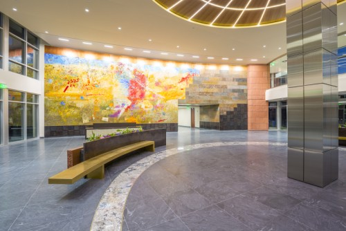 cottonwood corporate center, arch nexus, cottonwood partners, lobby,