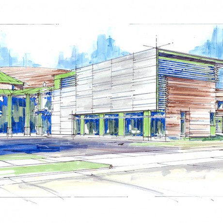 public safety, ogden city, weber county, emergency services, building, sketch, rendering, updated, improvements,