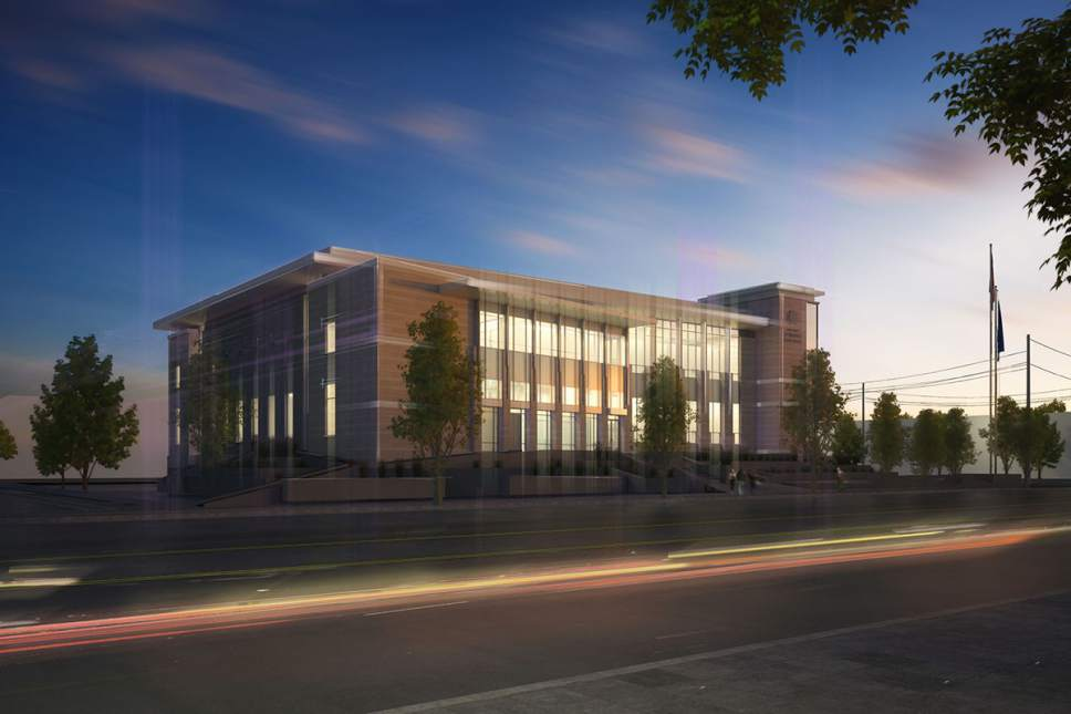 carbon county courthouse, courthouse, carbon county, architecture, rendering, construction, arch nexus,