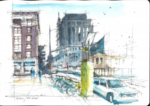 AIP, Architecture in Perspective, Charles Bagley,
